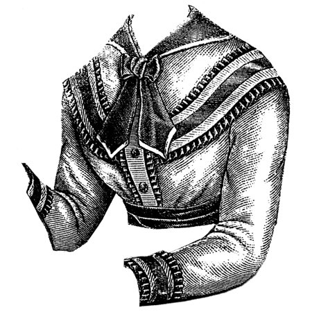 Renaissance Blouse Pattern (Sewing Pattern: 1869 Alpaca Blouse Waist)