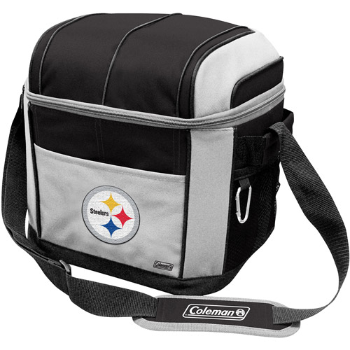 "Coleman 11"" x 9"" x 13"" 24-Can Cooler, Pittsburgh Steelers"