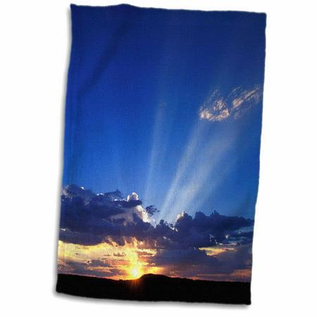 3dRose South Africa, Kalahari-Gemsbok NP, Kalahari sunbeam-AS42 PSO0014 - Paul Souders - Towel, 15 by 22-inch - Paul Frank Towel