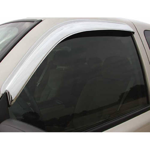 Stampede Sta6123-8 99-C Ford Hd Cc Chrome 4-Piece Window Visors