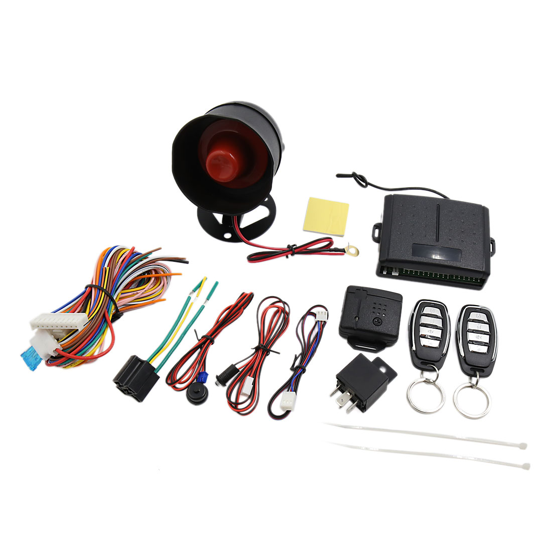 Car Alarm Security System Manual Reset Button Function Burglar Alarm Protection