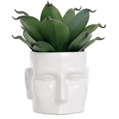 Torre & Tagus Face Vase Large - -
