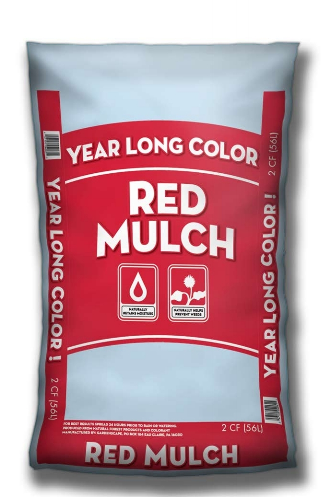 Year Long Red Mulch