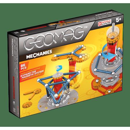 GEOMAG Mechanics 86 Piece Construction Set