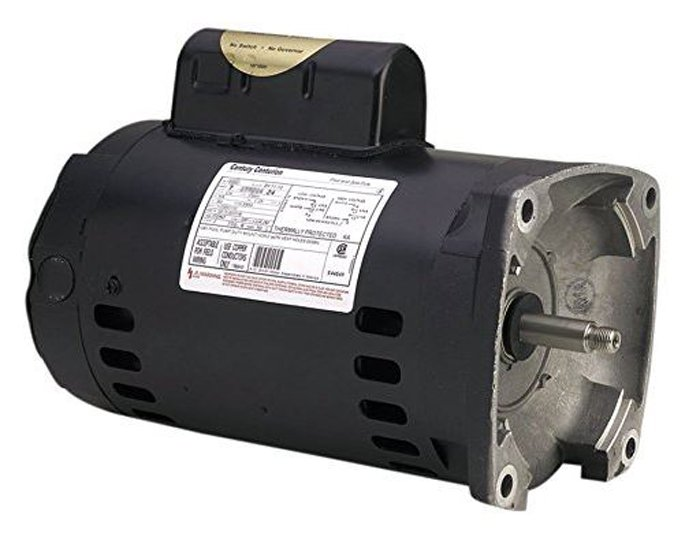 A.O. Smith Century B2843 Square Flange 2HP 3450RPM Single Speed Pool Pump Motor by A.O. SMITH