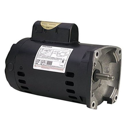 A.O. Smith Century B2843 Square Flange 2HP 3450RPM Single Speed Pool Pump Motor