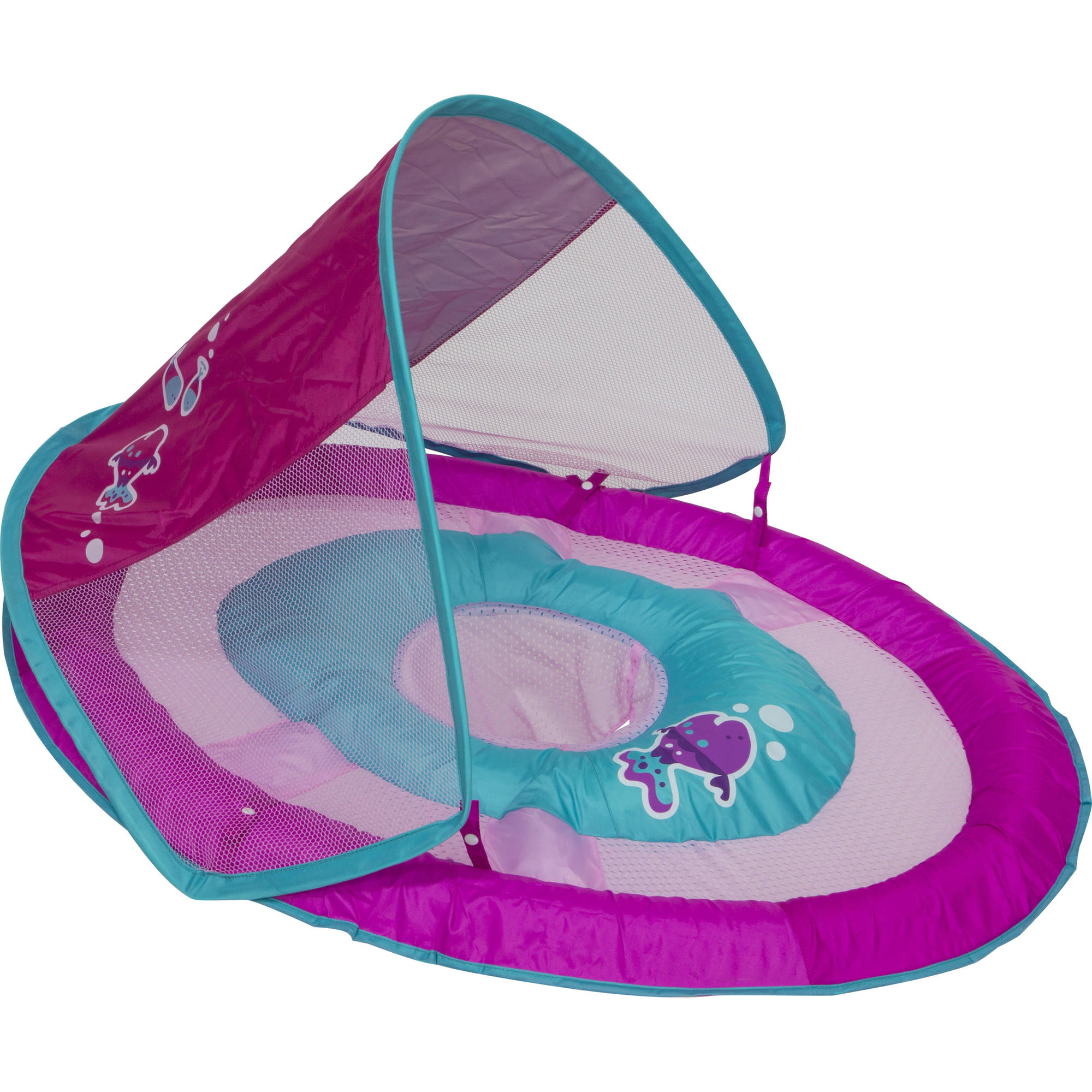 SwimWays Baby Spring Float Sun Canopy, Pink