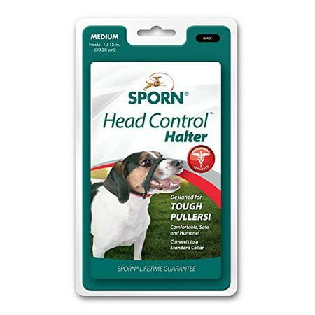 Sporn Pet Head Halter Instantly Stops Pulling Leash No Choke Safe Medium