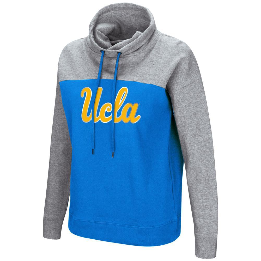 UCLA Bruins Ladies Hoodie Funnel Neck Pullover