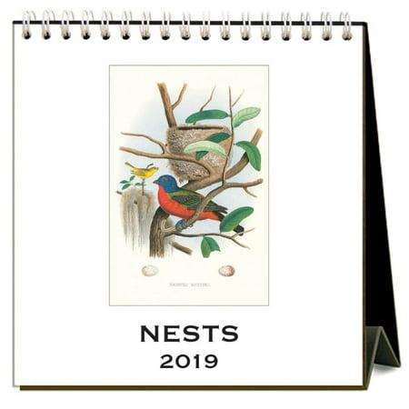 Easel Calendar 2010 (2019 Nests Easel Calendar, by Found Image Press)