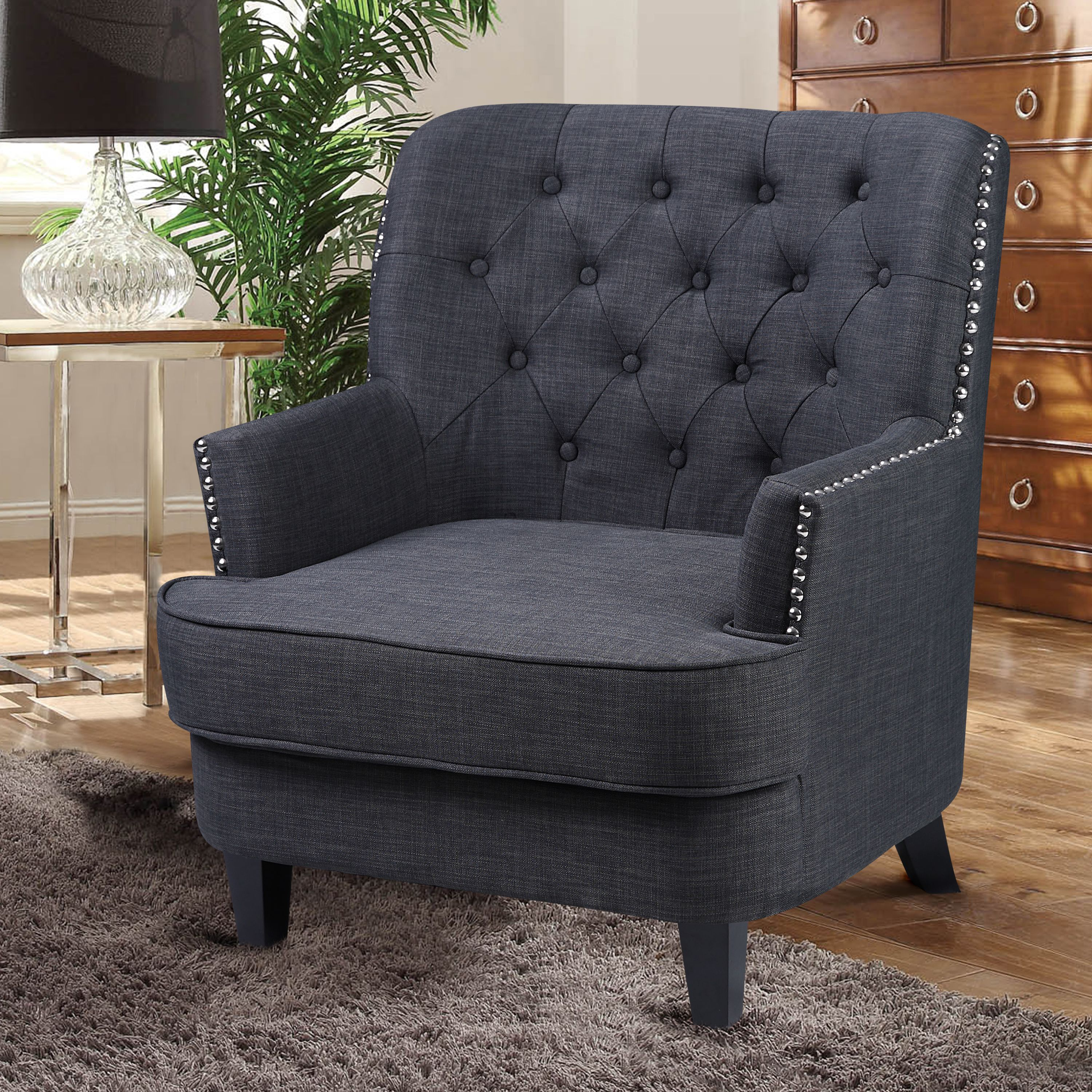 Couch And Two Accent Chairs.Best Master Furniture S Campbell Tufted Fabric Accent Chair Available In Two Colors
