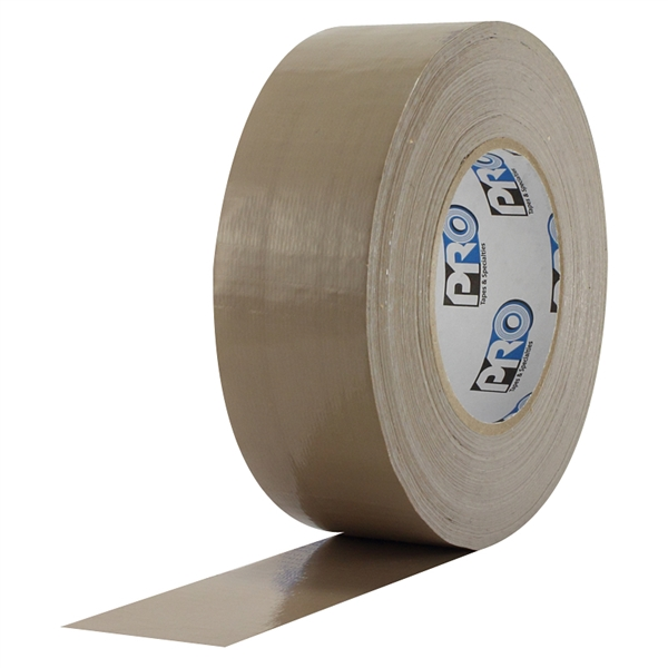 Pro Duct 120 Premium 2 inch x 60 yards (10 mil) Tan Duct Tape