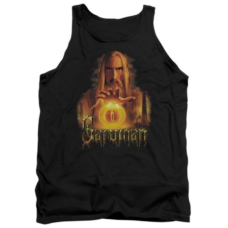 The Lord Of The Rings Movie Saruman Sauron Palantir Adult Tank Top Shirt