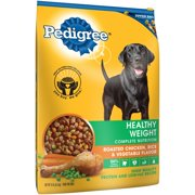 PEDIGREE Adult Healthy Weight Roasted Chicken and Vegetable Flavor Dry Dog Food 15 Pounds