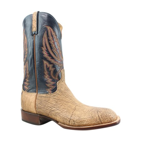 Lucchese Mens Hy2504.W8 Tan Cowboy, Western Boots Size 11.5 (2E)