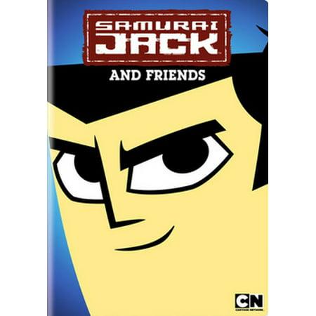 Samurai Jack and Friends (DVD) (Cartoon Network And Friends Dvd)