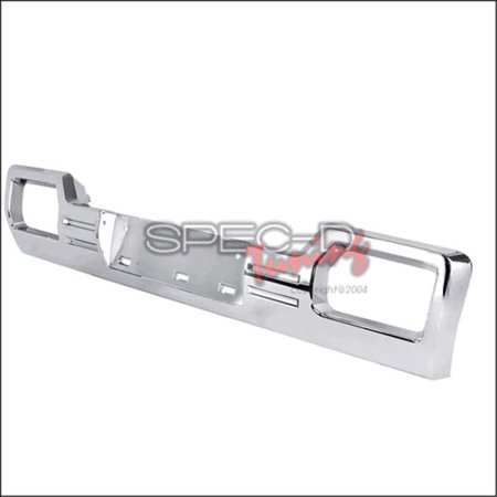 Spec-D Tuning HG-GMC14LWC-GL Lower Grille for 14 to Up GMC Sierra, Chrome - 6 x 12 x 43 in.