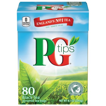 - PG tips Pyramid Bags Premium Black Tea 80 ct