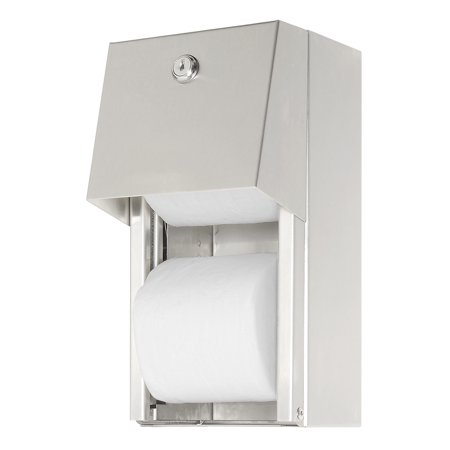ASI® 0030, Surface Mounted Dual Roll Toilet Tissue Dispenser, Lot of (Asi Toilet Accessories)