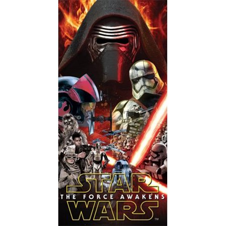 Star Wars The Force Awakens Good and Evil Characters Beach Towel - Star Wars Tower