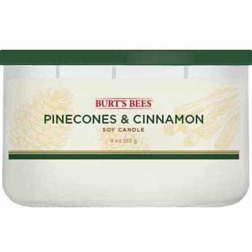 Burt's Bees 9 Oz Candle, Pinecone Cinnamon