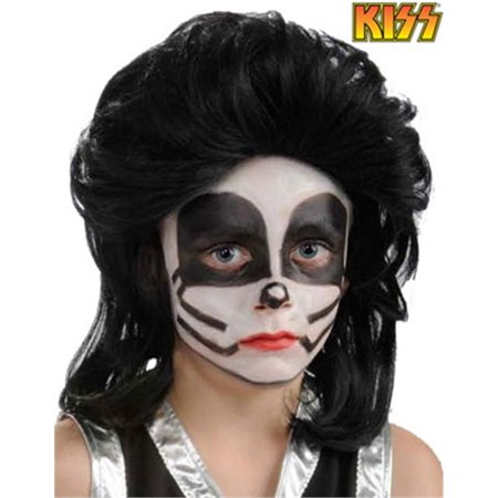 Child Kiss Peter Criss The Catman Costume Rock Star Wig](Kid Rock Wig)