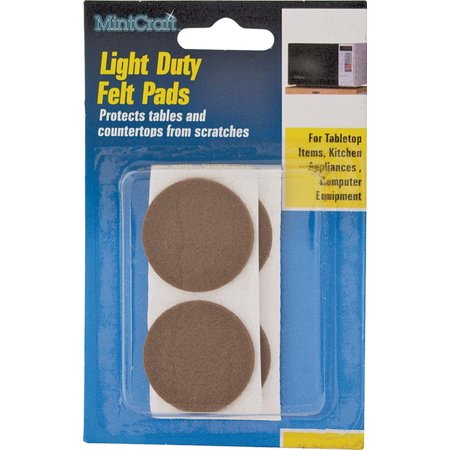 Prosource FE-50230-PS Protective Pads, Felt Pads, 1/2 In Prosource FE-50230-PS Protective Pads, Felt Pads, 1/2 InUsed for furniture, small kitchen appliances, pictures, and tabletop items from scratching floors, walls, or tabletops. Description du franais: PATIN FEUTRE FAIBLE RES 1/2PODescripcin espaol: ALMOHADILLA DE FIELTRO BAJA RESIST 1,27 CMFELT PADSLIGHT DUTYSize In : 1/2Color : WhiteShape : RoundUPC: 045734647978Weight: 0.040 lbs