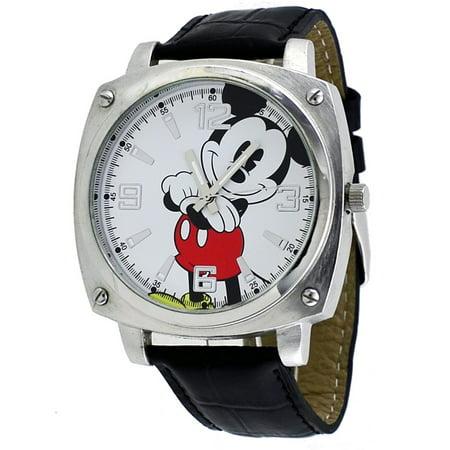 Men's Mickey Mouse black Strap Analog Jumbo Watch