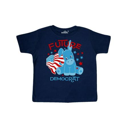 Donkey Future Democrat Toddler T-Shirt - Democrat Donkey