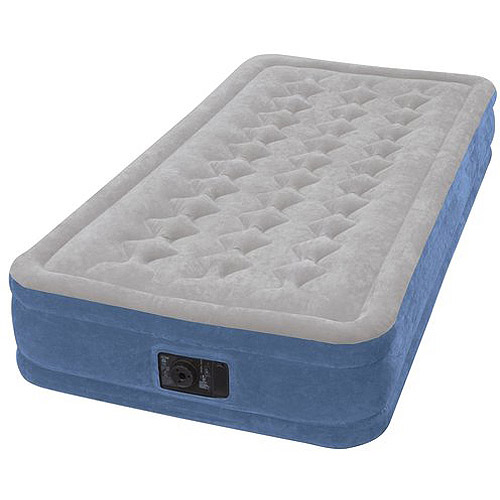 Intex Elevated Airbed with Pump, Twin