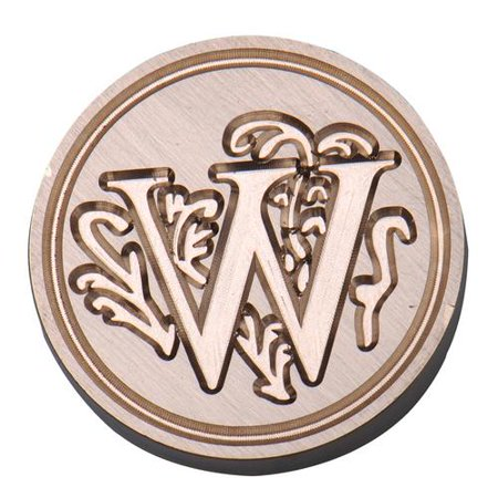 Initial Vintage Wax Badge Seal Stamp Wax Alphabet Letters Kit Wedding