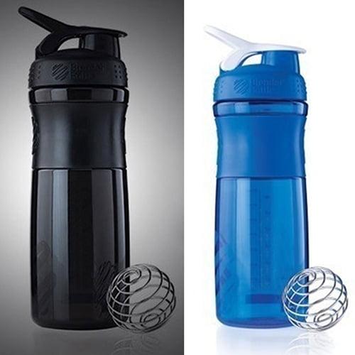 Sanwood 700ML Smart Shake Gym Protein Shaker Mixer Cup Blender Bottle Drink