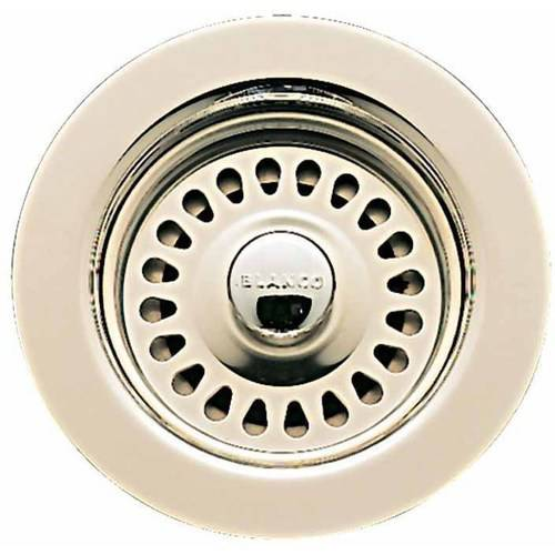 """Blanco 441481 4-1/2"""" Diameter Fixed Post Sink Strainer, Available in Various Colors"""
