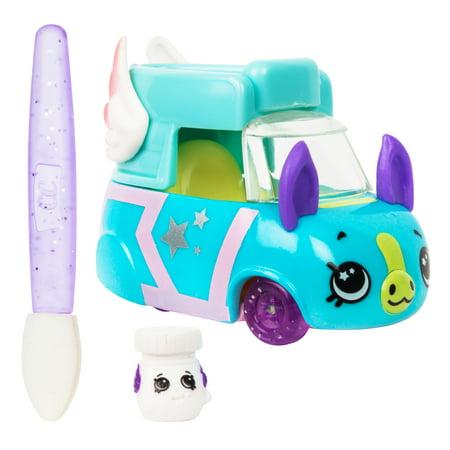 Shopkins Cutie Cars Color Change Fantasy, Sneaky - Holiday Fantasy Car
