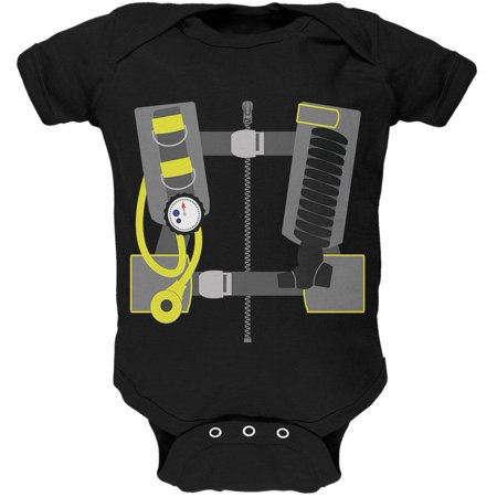 Halloween - Scuba Diver Costume Soft Baby One Piece](Be A Baby For Halloween)