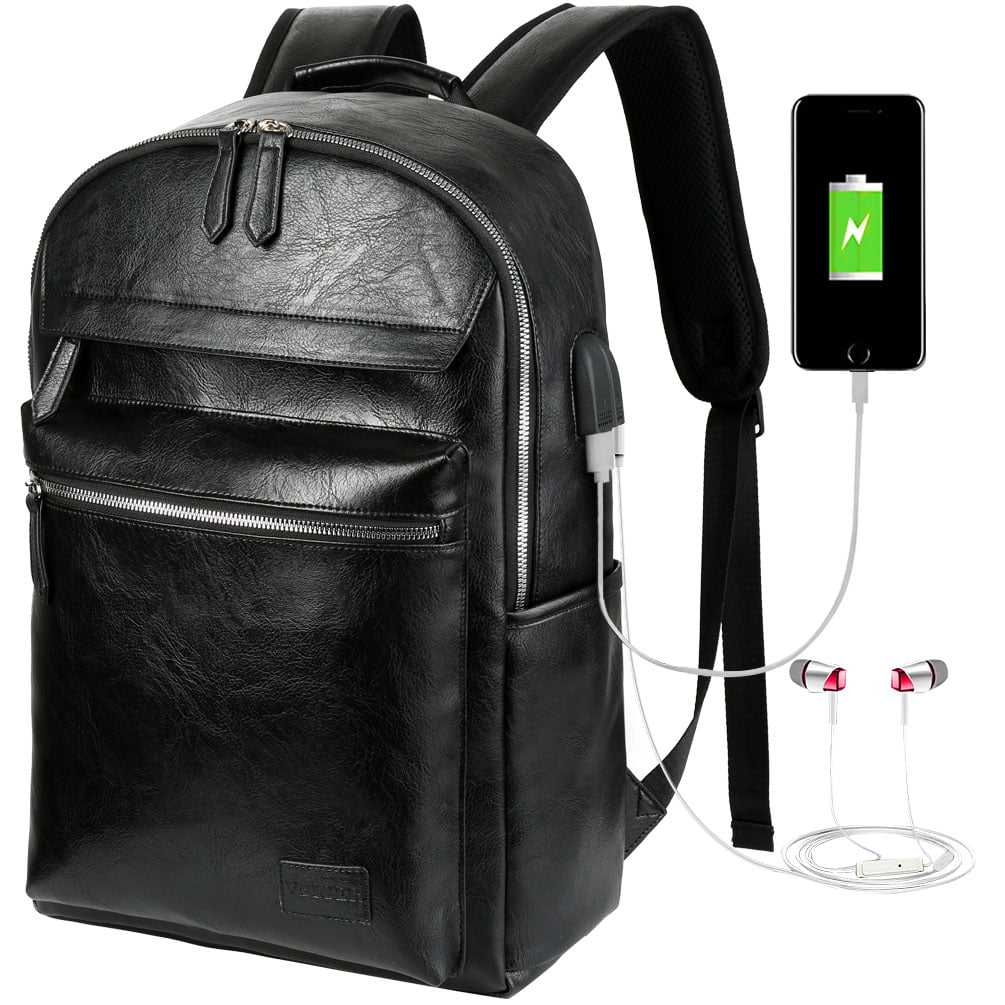 big face cat New business backpack USB