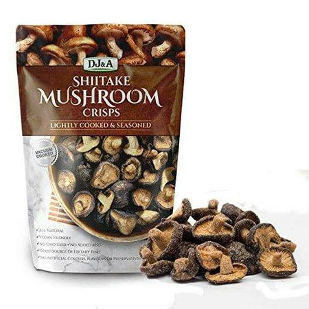 Shiitake Mushroom Crisps - Lightly Cooked and Seasoned 5.29
