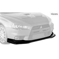 3a64f2c0714 Product Image Vicrez Mitsubishi Lancer Evolution Evo 10 X 2008-2015 VZEX Style  Polyurethane Front Lip -