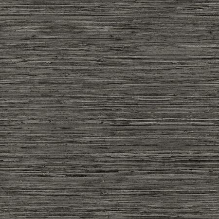 Grasscloth Grey Peel and Stick Wallpaper