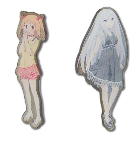 Pin Set - Oreshura - New Chiwa & Suzuha (Set of 2) Licensed ge50117