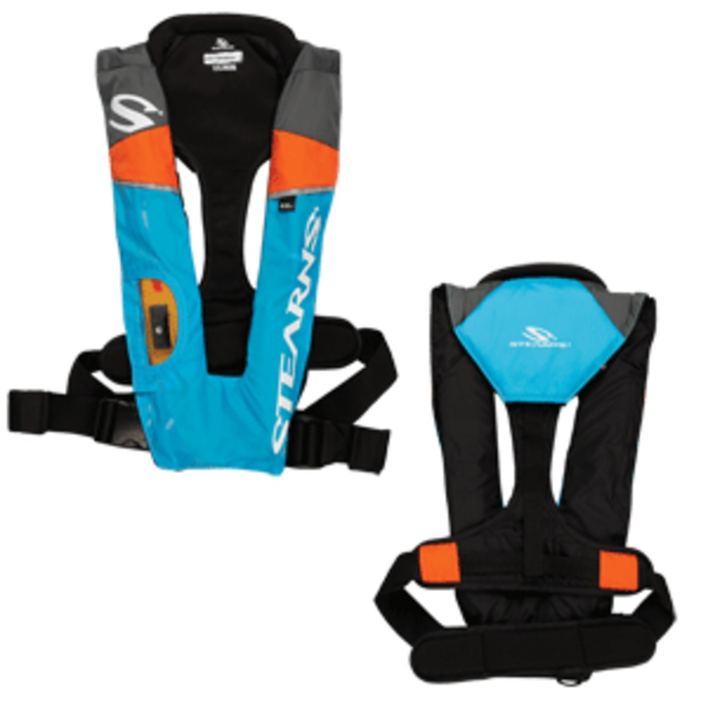 Stearns PFD 1493 Auto/Manual, Inflatable, Blue