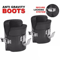 Fitness Maniac Pair Anti Gravity Inversion Boots Therapy Hang Spine Ab Chin Up