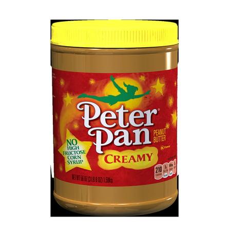 Peter Pan Creamy Peanut Butter  56 Ounces