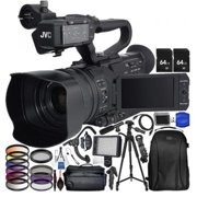 JVC GY:HM180 12.4MP 4K Ultra HD Camcorder with Accessory Bundle