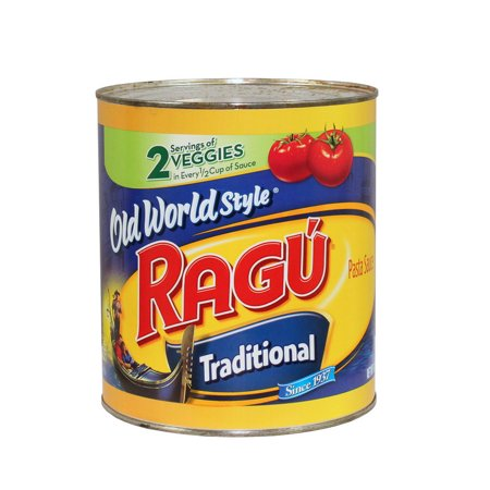 (Price/case)Ragu 00661 Old World Style Traditional Spaghetti Sauce 6 107Z
