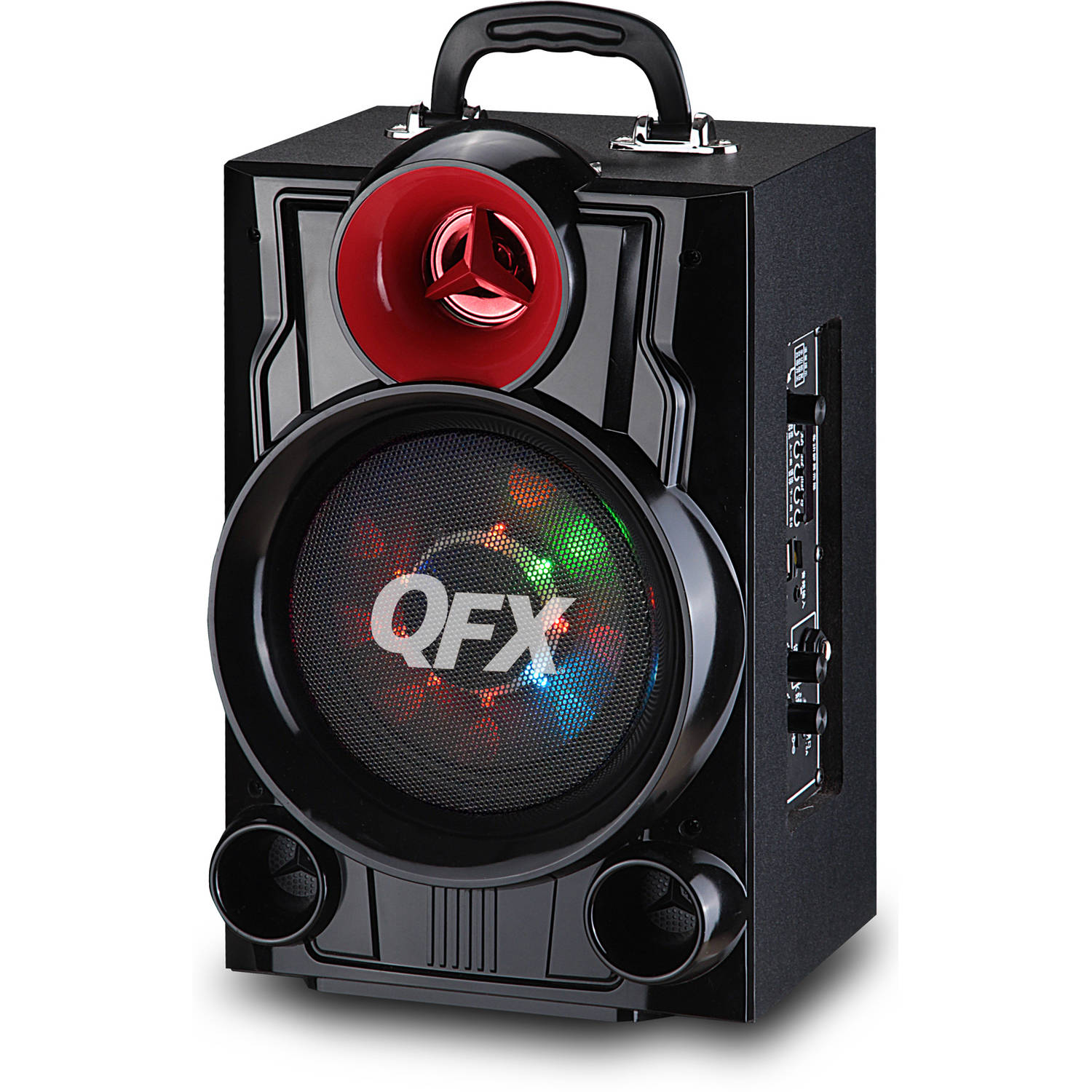 "QFX 6.5"" Battery-Powered Portable Bluetooth Speaker"