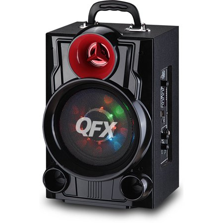 QFX 6.5″ Battery-Powered Portable Bluetooth Speaker