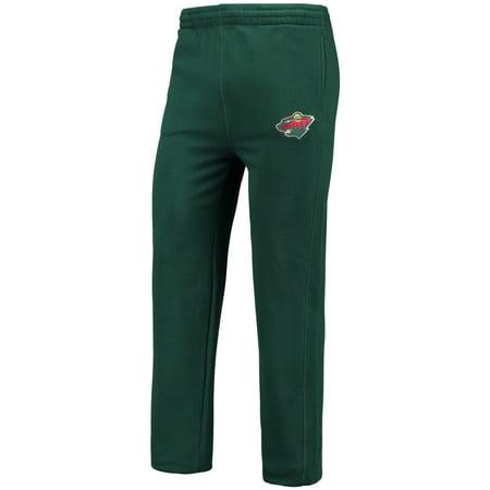 Minnesota Sweatpants - Minnesota Wild Fanatics Branded Anytime Fleece Pants - Green