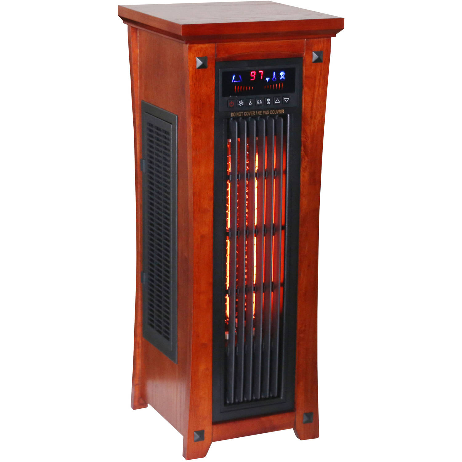 Heat Wave Infrared Quartz Tower Heater
