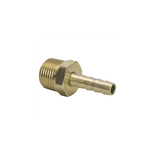 TekSupply WF2049 Brass I x M Adapter 0. 37 in x 0. 75 in